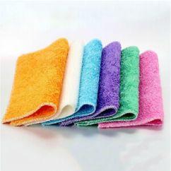 Towel For Kitchen Cut Gloves Absorbent Microfiber Hand Dishcloth Dishrag Washcloth Image Is Loading