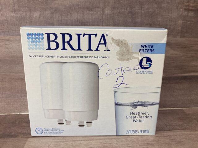 brita faucet replacement filter fr 200 chrome 2 pack