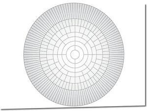 A2 Circle Family Tree Chart (Family History / Genealogy