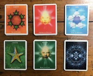 One World Tarot Cards Deck. Crystal Love Michael Hobbs OOP Modern Minimalist | eBay