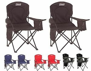 rewebbing a chair target upholstered dining chairs 2) coleman camping outdoor oversized quad folding w/ cooler & cup holders | ebay