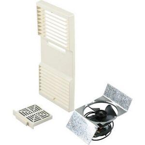 Tekquest CA90 Ductless Exhaust Kit  Fan Grill  Filter  Beige