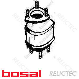 Front Catalytic Converter Chevrolet Daewoo:LACETTI,KALOS