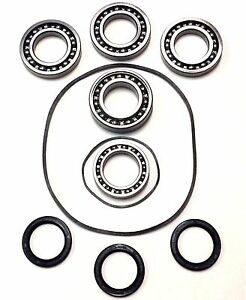Front Gear Case Differential Bearing Seal Kit for 08-10