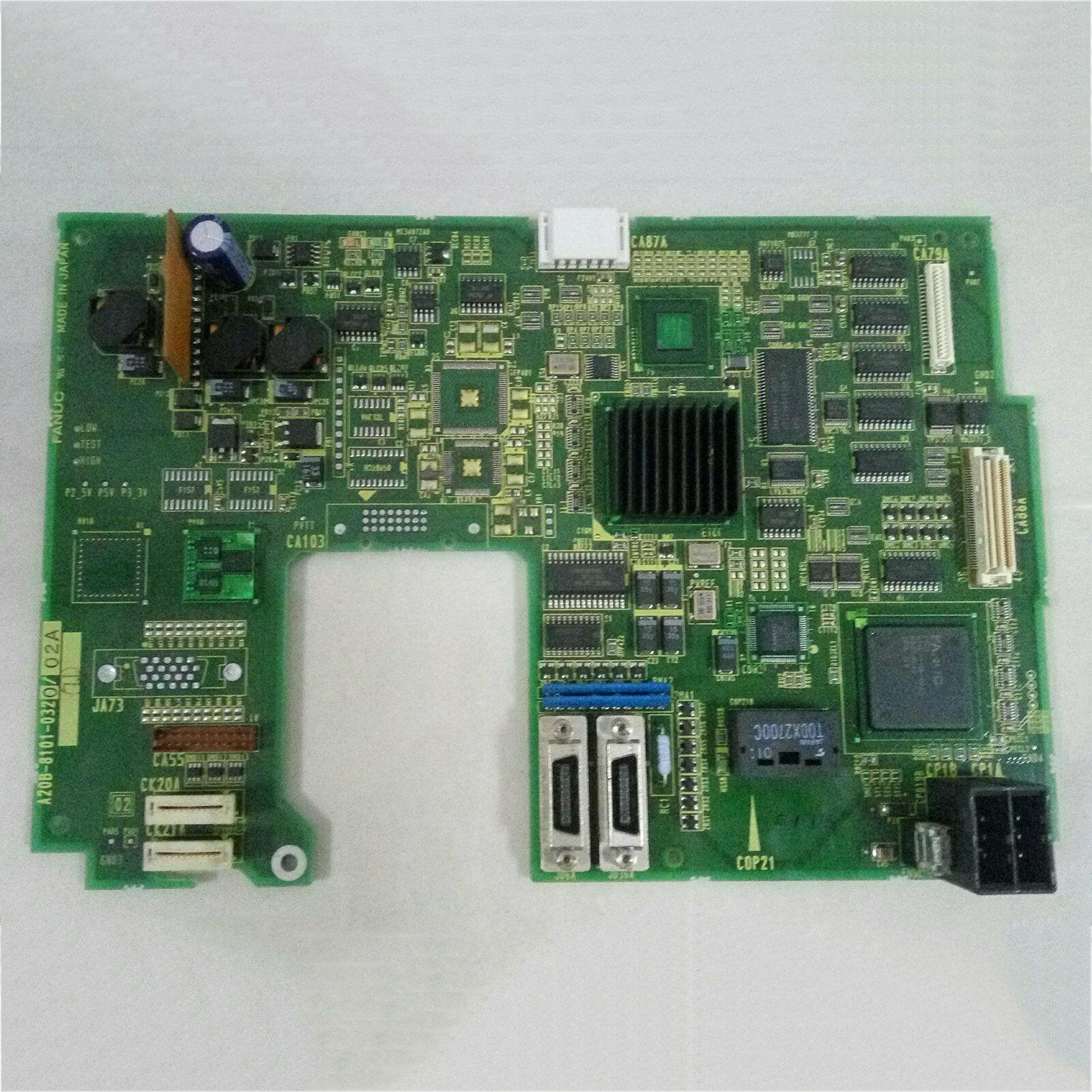 1PCS Used For Fanuc A20B-8101-0320 System Board Tested in Good Condition#QW