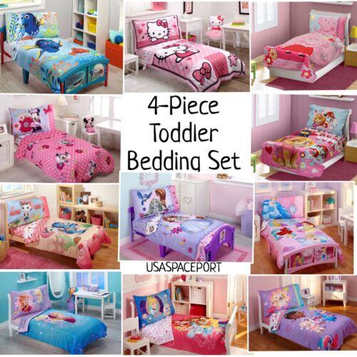 bedding sheets childs bed room in a bag sheet 4pc girls toddler bedding set comforter home garden gefradis fr