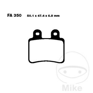 EBC SFA Scooter Rear Brake Pads SFA350 Peugeot Elyseo 150