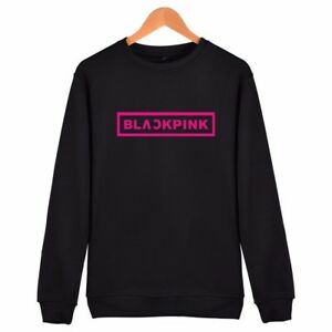 Blackpink Print Sweater Jumper Kpop Korean Fashion Unisex
