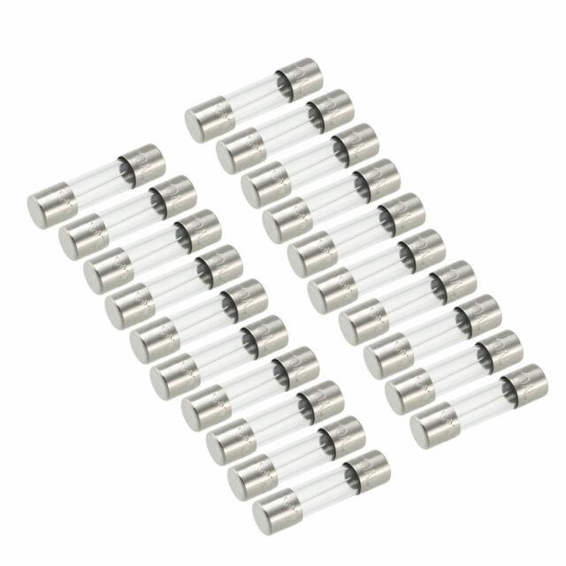10 types Fast Blow Glass Cartridge Fuse Tube Fuse Kits