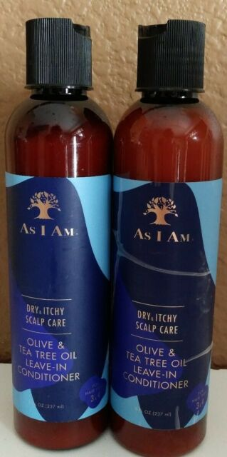 2 As I Am Dry & Scalp Care olive tea tree Oil Leave-In ...
