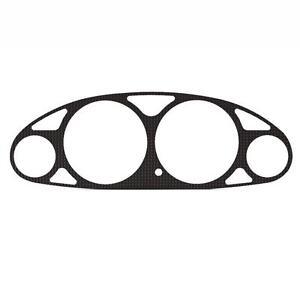 Carbon Gauge Cluster Dash Bezel Trim fits: 94-01 Acura