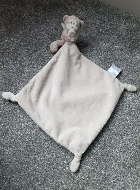 The Little White Company Monkey Chimp Baby Comforter Blankie Blanket Soother For Sale Online Ebay
