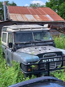 Land Rover Series 3 Petrol Barn Find Project