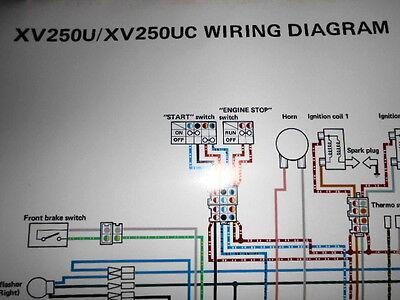 yamaha xv 250 virago wiring diagram  wiring diagram series