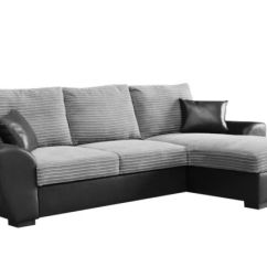 Gianni Corner Sofa Bed Review Set Brands In India Giani Fabric Right Hand Side Grey Ebay Black And Cobra Faux Leather