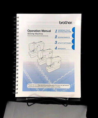 Brother Ce1100prw Manual : brother, ce1100prw, manual, Brother, CE1100PRW, Sewing, Machine, Operation, Manual, Guide, Instructions