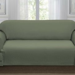 Sage Sofa Slipcovers Tufty Time Cost Green Loden Lucerne Slipcover Couch Cover