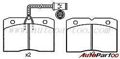 Alfa Romeo (1978-89) Iveco (1978-99) *New* Front Brake Pad