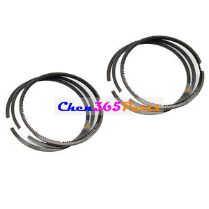2 Set Piston Rings Kit STD 3803358 for Cummins N14 NT855