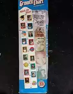 Watch me grow growth chart worth picture frames also other baby rh gumtree