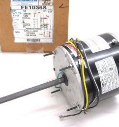 marathon electric 48a11t570 s88 158 condenser fan motor 1 3 hp 1075 rpm 208 230v for sale online ebay [ 1600 x 1200 Pixel ]