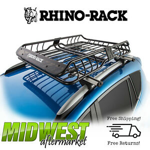 details about rhino rack roof basket large xtray