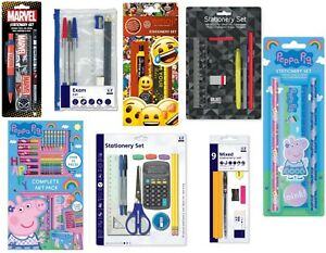 school stationery set for