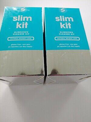 2 PKS Sculpt Slim Kit Slimdown Cleanse Natural Weight Loss ...