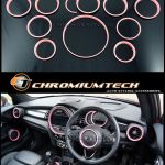 F56 Mini Cooper S One Black Interior Rings Trim Kit For Models W Navigation Xl For Sale Online Ebay