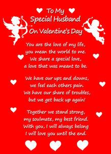 Valentines Poems For Husband : valentines, poems, husband, Valentines, Verse, Husband, Fiance, Partner, Boyfriend