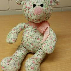 Neal Sofaworks Teddy Cheap Sofas Leather Uk Sainsburys Tu Baby Floral Flowers Pink Soft Plush Toy Comforter Dou Bd45e5