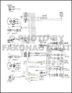 1974-1975 Gmc Astro 95 Chevy Titan 90 Plegable De Diagrama
