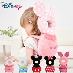 details about disney baby head back protector safety pad pillow infant toddler harness
