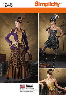Steampunk Patterns Simplicity : steampunk, patterns, simplicity, SIMPLICITY, Designed, Especially, Steampunk, Costume, Sewing, Pattern