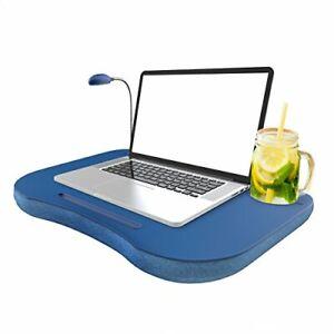 details about portable laptop lap desk pillow foam cushion computer bed tray table accessories
