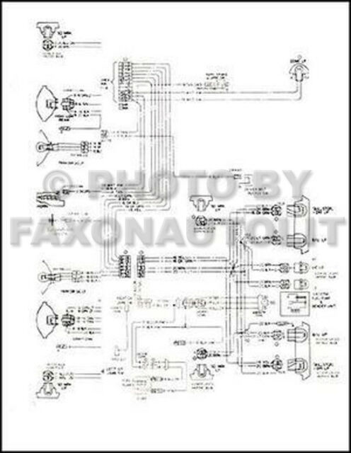 1974 GMC CK Truck Wiring Diagram Pickup Suburban Jimmy