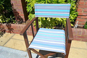 director chair replacement covers ebay swivel mustard yellow directors chairs canvas image is loading