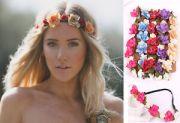flower crown hair band headband