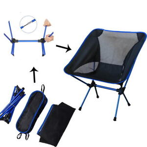 fishing chair lightweight rolling office on carpet portable folding camping stool picnic image is loading