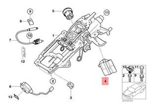 Genuine BMW JCW R50 R52 R53 Cabrio Coupe Ignition Lock