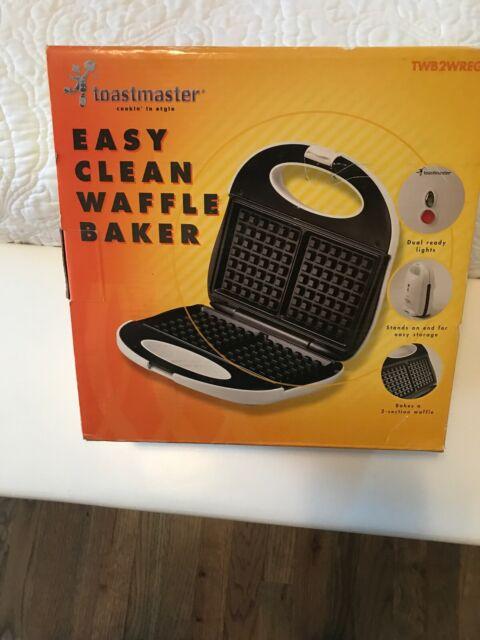 Toastmaster Belgian Waffle Maker Baker- Easy Clean for sale online   eBay