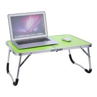 New Aluminium Folding Portable Laptop Stand Desk Camping ...