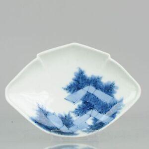 Edo Period Japanese Porcelain Plate Antique ko-Imari ca 1670-90 Top Qual...