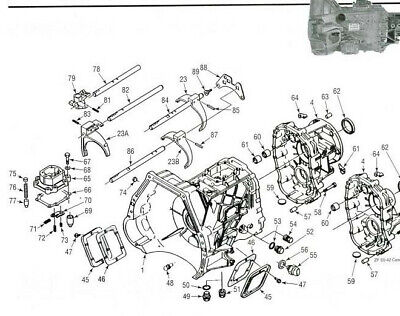 ZF S5-42 S5-47 S5-47M TRANSMISSION GEARBOX WORKSHOP
