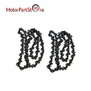 2pcs 14 Inch Chainsaw Saw Chain Fit for Stihl 017 MS170