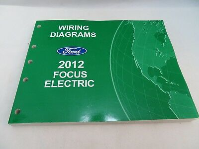2012 ford focus electric wiring diagrams service manual oem