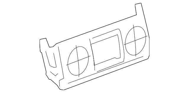 OEM Genuine GM Temperature Control Dash Unit 07-09