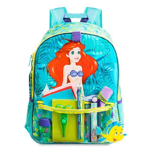 little mermaid backpack school