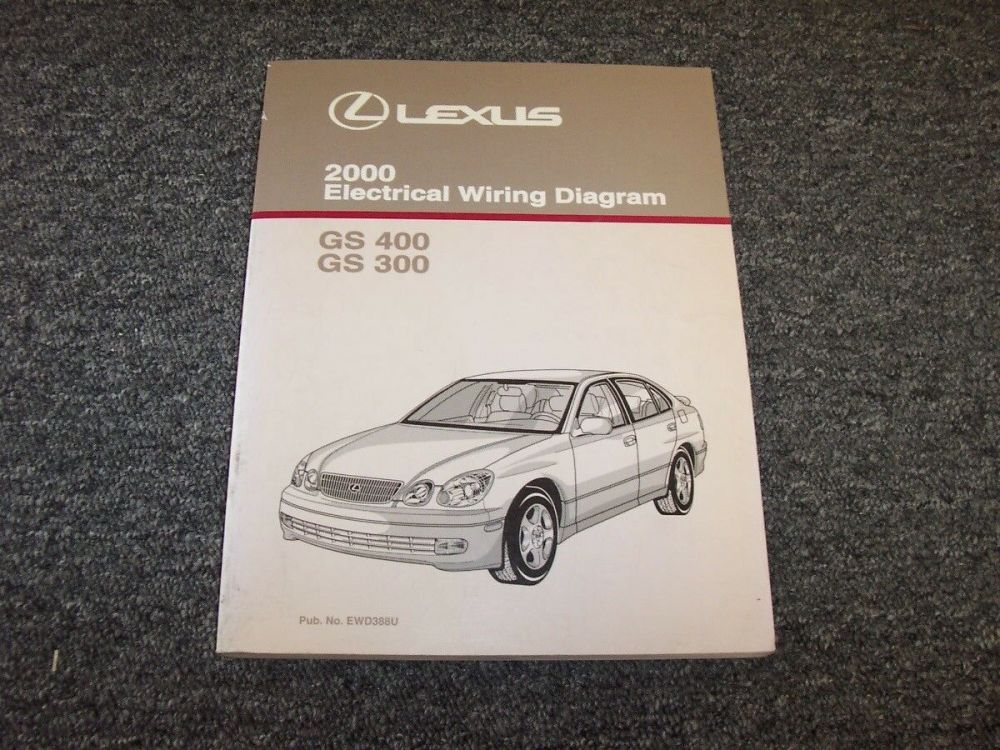 medium resolution of 2000 lexus gs 300 400 electrical wiring diagram manual original catalina 22 electrical wiring diagram 2000