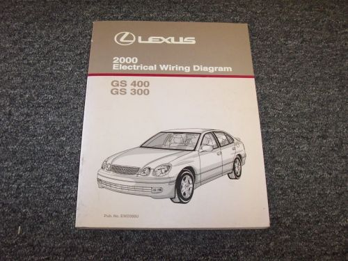 small resolution of 2000 lexus gs 300 400 electrical wiring diagram manual original catalina 22 electrical wiring diagram 2000